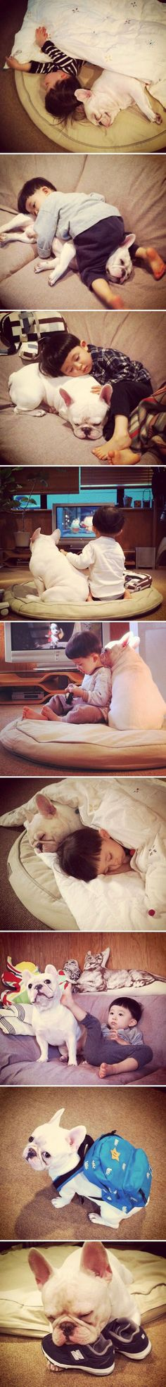 The Sweetest Friendship.  Adorable!!!!!