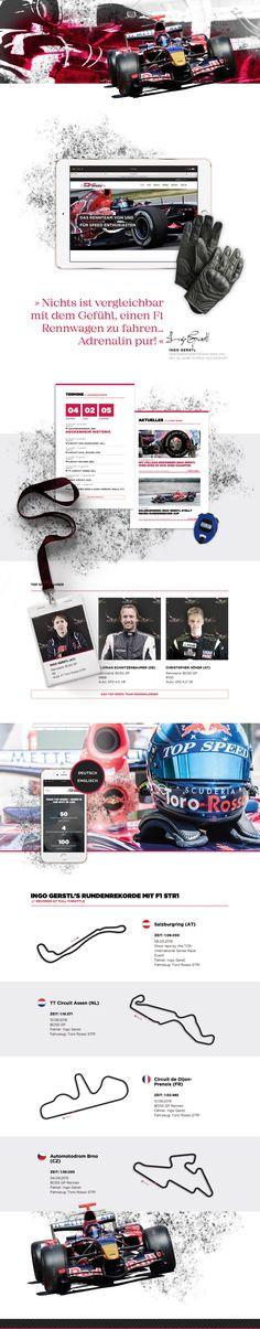 Webdesign und Brand Communication für Top Speed, die Marke rund um Boss GP Geschwindigkeitsrekordler Ingo Gerstl, der bereits Formel-1-Rennfahrer wie Kamui Kobayashi, Jérôme D'Ambrosio und Romain Grosjean trainiert hat.  #Webdesign #Markenkommunikation #Formel1 #BossGP #DigitalDesign #Rebranding