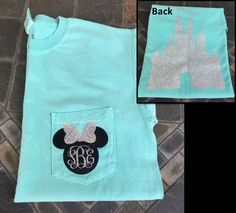 Disney Minnie Mouse monogram initials heat transfer vinyl on shirt. shirts fl - Vinyl Shirt - Ideas of Vinyl Shirt - Disney Minnie Mouse monogram initials heat transfer vinyl on shirt.