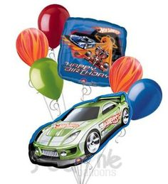 Hot Wheels Birthday Party Cupcakes Hot Wheels Birthday Party