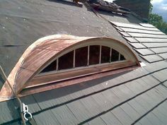 Radius copper dormer. Raleighroofing.com
