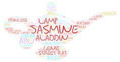Aladdin - Jasmine in a Lamp by TennesseeDarling on deviantART Disney Word, Disney Pins, Disney Stuff, Aladdin And Jasmine, Princess Jasmine, Princess Disney, Disney Princesses, Disney Silhouettes, Have Courage And Be Kind