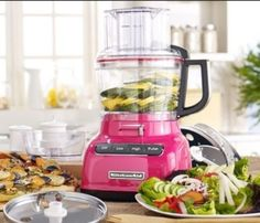 KitchenAid KFC3516GA 3.5 Cup Mini Food Processor, Green A...  Https://www.amazon.com/dp/B01LWL1LMT/refu003dcm_sw_r_pi_dp_x_iZAwzbQ26EYBC |  Pinterest | Mini Foods ...