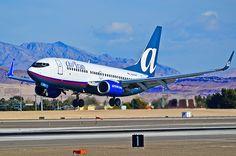N344AT AirTran 2008 Boeing 737-7BD C/N 36718