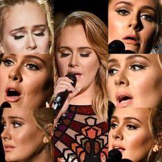 Adele Grammy's 2017 Makeup