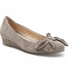 Me Too Martina Bow Ballet Wedge.