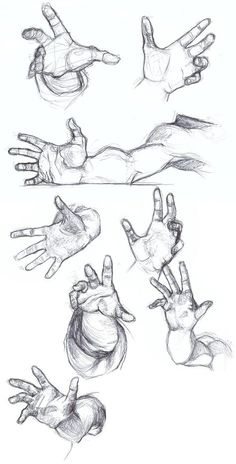 Super How To Draw Hands Anime Design Reference Ideas – Zeichnen – drawings Hand Drawing Reference, Art Reference Poses, Design Reference, Anatomy Reference, Anatomy Study, How To Draw Anatomy, Anatomy Sketches, Drawing Sketches, Sketching