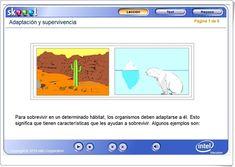 ADAPTACIÓN Y SUPERVIVENCIA (Actividad interactiva de Ciencias Naturales)