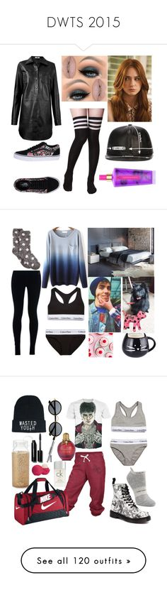 """""""DWTS 2015"""" by the-wanted-potato ❤ liked on Polyvore featuring HIDE, Moschino, Victoria's Secret, Castello, Vans, Rossetto, NIKE, Charter Club, Calvin Klein Underwear and DancerBella"""
