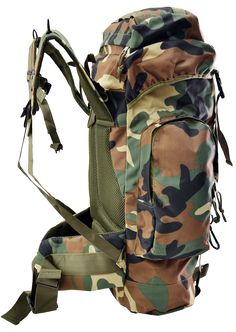 Large Hiking Tactical Military Backpack Camping 45 Liters
