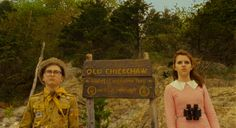 """""""The Wes Anderson Collection"""" video essay series finishes with a look at the director's 2012 hit """"Moonrise Kingdom,"""" the tale of a young love that throws a small community into turmoil. The Wes Anderson Collection, Kingdom Movie, Vintage Nature Photography, Wes Anderson Movies, 2012 Movie, Moonrise Kingdom, Beautiful Film, Girl Falling, Film Stills"""