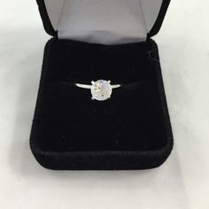 Beautiful ring marked Size 6.5 large CZ marked with makers mark? Jewelry Rings