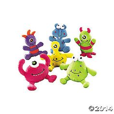 Monster Party-Plush Monsters