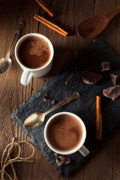 Need a last-minute gift? Any chocolate lover or coffee fanatic would jump for this morning mug of coffee-flavored hot cocoa!
