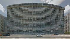 Provident Centre, blocks 6 to 12 - Housing - #architecture #googlestreetview #googlemaps #googlestreet #china #hongkong #brutalism #modernism