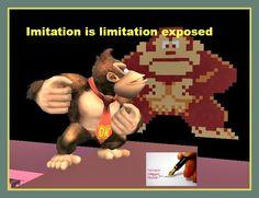 Imitation and limitation
