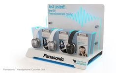 Panasonic Headphone Counter Unit (interactive)