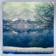 #moutains #polaroid After a night of heavy snowing the view out of my hotel was #amazing @impossible_hq