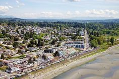 Metro Vancouver Aerial Photography of White Rock Ocean Views, Aerial Photography, Vancouver, Dolores Park, Homes, Rock, Gallery, Travel, Image