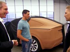 This is probably the Tesla Model 3 - Business Insider