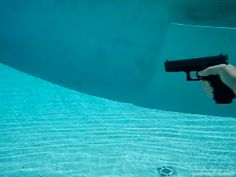 Underwater firearm