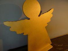 Engel ☆★  GOLDENGEL von PAULSBECK Buchstaben, Dekoration & Geschenke auf DaWanda.com