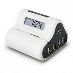 USB Hub, Alarm clock and Letter Opener!!!  need this!!!
