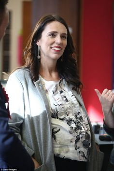 An Australian author has slammed New Zealand Prime Minister Jacinda Ardern (pictured weeks before she gave birth in June) for not leading the country 'like a woman' Australian Authors, Prime Minister, Slammed, Enemies, 30 Years, Maternity Fashion, Role Models, Fashion Models, Birth