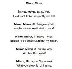 depressing quotes   life depression sad suicide tired mirror thoughts care depressing ...