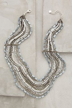 Layered Andorra Necklace - anthropologie.com | Can I make a knockoff?
