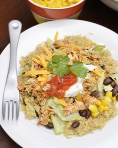 Quinoa isn't as scary as it looks! Make it and enjoy these delicious quinoa burrito bowls from #lmldfood