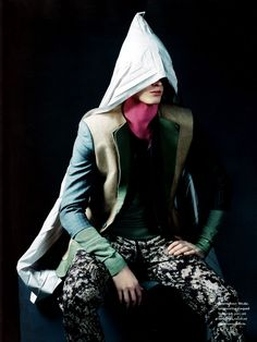 Standard Deviation - Fashion. Design. Culture. Art. Myko.: BON Magazine: Art Also Makes A Mark Spring / Summer 2011 Menswear Editorial