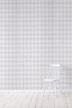 Wallpaper by ellos Tapet Harmony ljusgrå