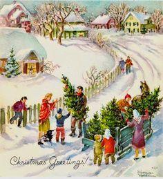 Actividades para la animación lectora: Christmas vintage