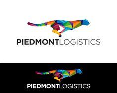 Piedmont Logistics Modern, Professional Logo Design by sooperdesigner1981