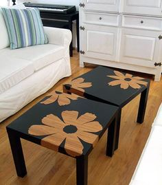 diy coffee table idea paint
