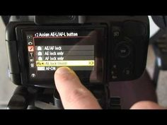 manual setting for video on Nikon 5100