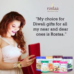 Dry fruit range from @rostaa_dryfruits makes an excellent option for Diwali gifts. Use code V15 on your online purchase on rosta