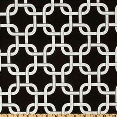 CLEARANCE  Premier Prints Gotcha Black and White Home by FabricHQ