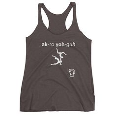 AcroYoga Women's Tank Top by Phonetics World