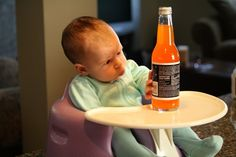 Jones Soda Labels a Hit (even with babies) by Geoghegan Family, via Flickr