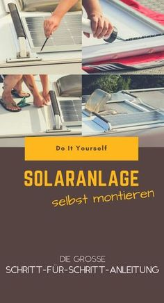 Mehr Autarkie für dein Wohnmobil, mehr Freiheit für dich! Wir zeigen dir, wie du deine eigene Solaranlage aufs Dach kriegst - von der Planung bis zur Installation in einfachen, bebilderten Schritten!