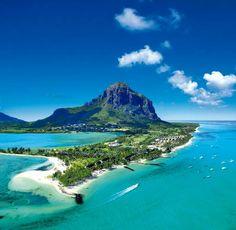Plage du Morne, hôtels... Ile Maurice (Mauritius)