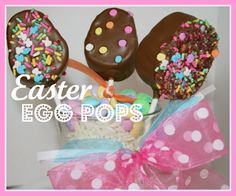 SusieQTpies Cafe: Easter Egg Pops & Bowdabra Bow Tutorial