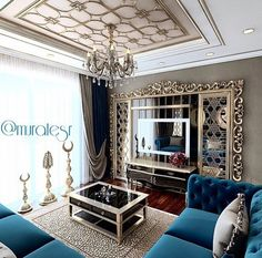 The exact color of our Movie Room couch! I need one that is this luxurious and comfy. Living Room Wall Units, Living Room Designs, Living Room Decor, Modern Tv Room, Interior Exterior, Interior Design, Room Partition Designs, Classic Interior, Home Decor Fabric
