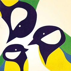 Gebaseerd op 'Three Little Birds' by Bob Marley & The Wailers – 31 x 31 cm. Inzending voor het boek '140 hits in art' met daarin 140 alternatieve album ...