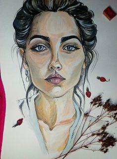 #daryasnoopy_art #acryl #portrait #art #artist #girl #drawing #painting