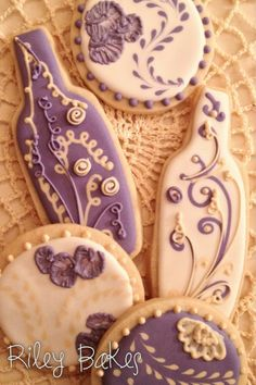Bridal Shower Cookies - Made to Order custom decorated wine bottle sugar cookies with royal icing.