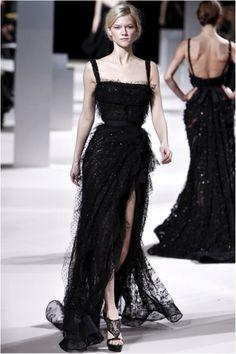 ellie saab-Black dress