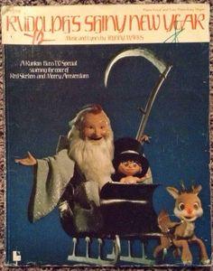 Rudolph's Shiny New Year 1975 on Etsy, $10.00